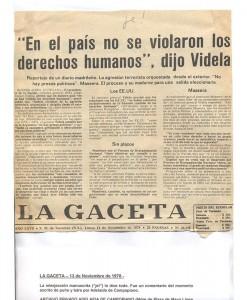 La Gaceta 13-11-1978