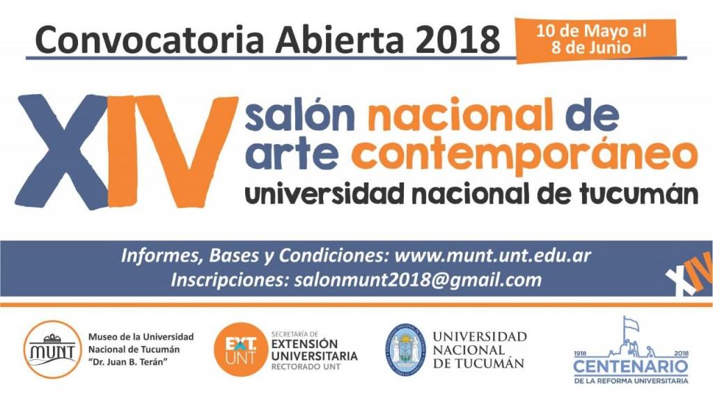 Convocatoria XIVº Salón Nacional de Arte Contemporáneo 2018-image
