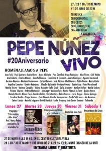 Pepe Nuñez #20 aniversario
